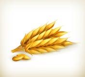 Wheat, icon Stock Photos