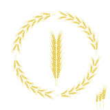 Wheat Icon Royalty Free Stock Photos