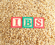 Wheat and Irritable Bowel Syndrome (IBS) Royalty Free Stock Photography