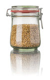 Wheat in a jar Royalty Free Stock Image