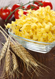Wheat noodles Stock Photography