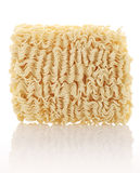 Wheat noodles closeup  Royalty Free Stock Images