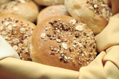 Wheat Oat Buns Royalty Free Stock Image