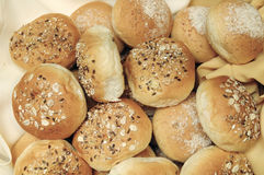 Wheat Oat Buns Royalty Free Stock Images