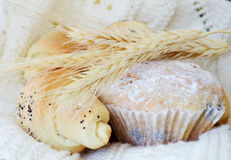 Wheat pastry Stock Photos