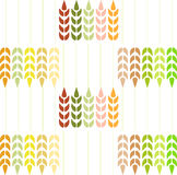 Wheat Pattern. Royalty Free Stock Photo