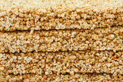 Wheat popcorn Stock Photography