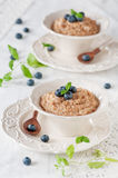 Wheat porridge Royalty Free Stock Photography