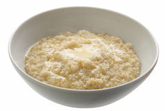 Wheat porridge Stock Photo