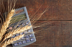 Wheat Price royalty free stock images