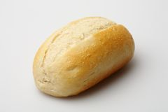 Wheat roll. On a light grey background Royalty Free Stock Photos