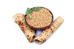 Wheat rolls Stock Image