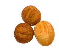 Wheat rolls Royalty Free Stock Image