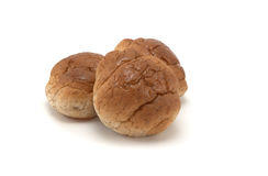 Wheat Rolls table. Wheat Table rolls tasty on a white background stock image