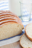 Wheat and Rye Bread with Oats Stock Image