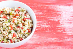 Wheat salad Royalty Free Stock Images