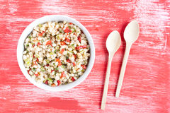 Wheat salad Stock Images