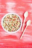 Wheat salad Stock Image