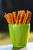Wheat salt sticks Stock Photos