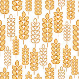 Wheat seamless Stock Photos
