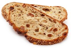 Wheat sesame bread Royalty Free Stock Photography