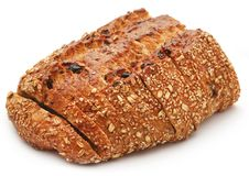 Wheat sesame bread Royalty Free Stock Images