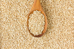 Wheat With Spoon Royalty Free Stock Image