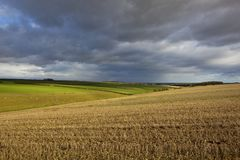 Autumn storm clouds Royalty Free Stock Images