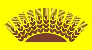 Wheat sun vector illustration