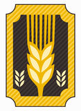 Wheat symbol Stock Image