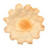 Wheat tartlet on white Royalty Free Stock Photo