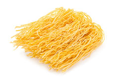 Wheat uncooked noodles Royalty Free Stock Photo