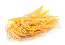 Wheat uncooked noodles Royalty Free Stock Photos