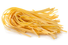 Wheat uncooked noodles Royalty Free Stock Images