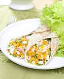 Wheat wraps. Royalty Free Stock Image