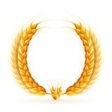 Wheat Wreath Stock Photos