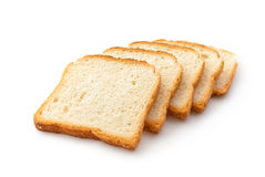 Wheaten bread sliced Stock Photo