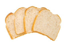 Wheaten bread sliced Stock Images