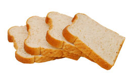 Wheaten bread sliced Stock Photos
