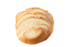 Wheaten bread sliced Royalty Free Stock Photos