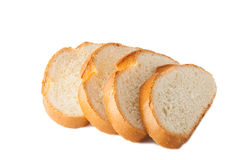 Wheaten bread sliced Royalty Free Stock Photo