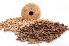 Wheatfeed pellets Royalty Free Stock Image