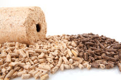 Wheatfeed pellets Royalty Free Stock Photography