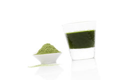 Wheatgrass. Royalty Free Stock Images