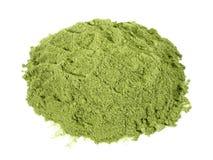 Wheatgrass proszek - Zdrowy odżywianie obrazy stock