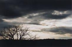 Wheather la tempête Photos libres de droits