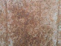 Wheathered rost och skrapad textur som är användbara för bakgrund Royaltyfria Bilder