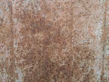 Wheathered rust and scratched texture useful for background Royalty Free Stock Images
