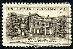 Wheatland US Postage Stamp Royalty Free Stock Image