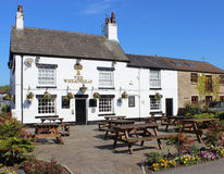The Wheatsheaf Pub in Garstang, Lancashire Royalty Free Stock Photo